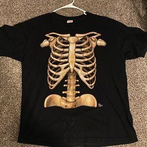 Vintage skeleton tee